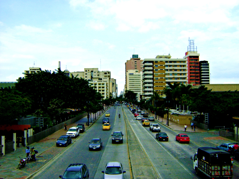 A city...